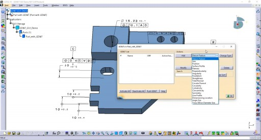 New Version of 3DCS Statistical Tolerance Analysis Software Adds GD&T Validation and Optimization Interface