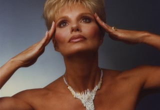 "Loni Anderson's Erté ""Sophistication"" brooch/necklace, to auction May 21"