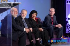 People Centered Internet Chairman Vint Cerf with Doc Searls, Mei Lin Fung & David Bray