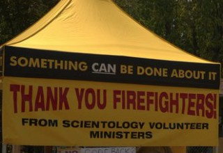 Volunteer Ministers tent