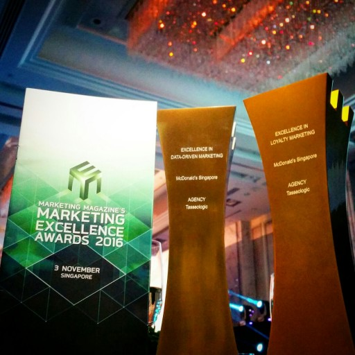 Over Six Awards in Six Months for Tasseologic and McDonald's in Asia