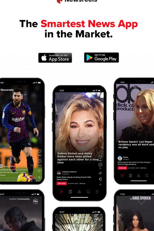Newsreels - The Next TikTok, But for News
