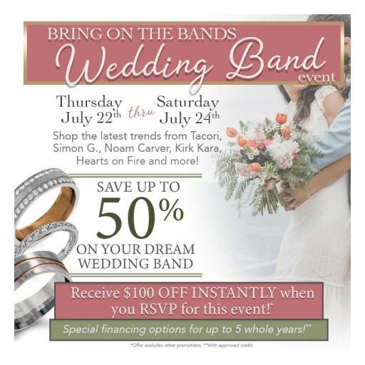Save Money on Designer Wedding Bands at Huntington Fine Jewelers