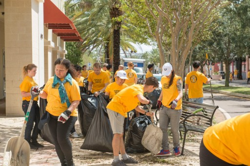 Cleanup Efforts in Clearwater Begin in the Wake of Hurricane Irma