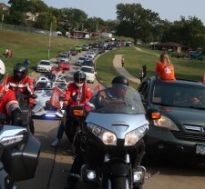 Kansas City's first Peace Ride brings the community together to end violence.