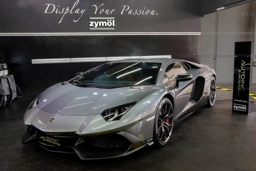 Zymöl Announces New Detailing Studio with Lamborghini in Singapore