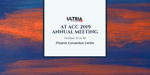 Ultria Announces Its Participation and Blue Sponsorship at ACC Annual Meeting 2019