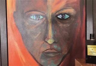 "The painting - ""Tony - self portrait"""