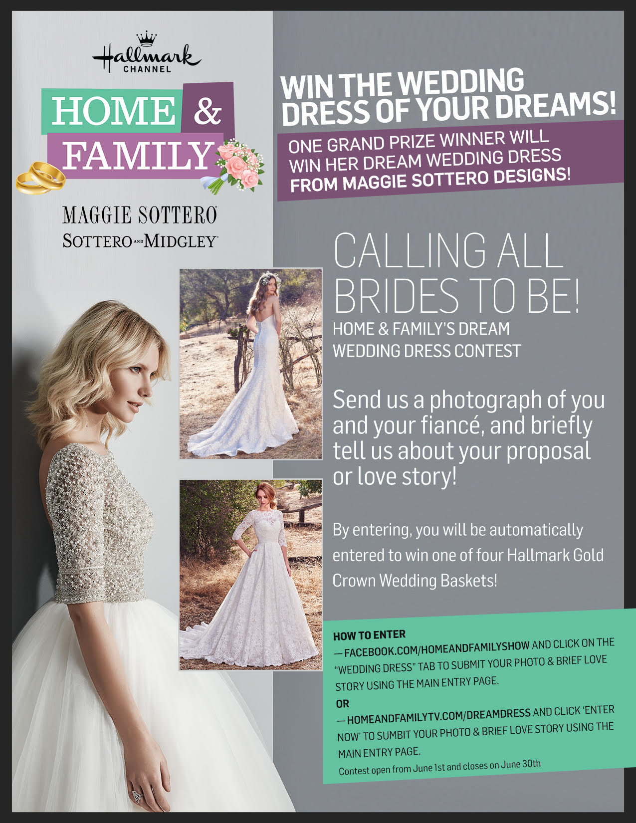 Win the Wedding Dress of Your Dream on Hallmark Channel\'s Home ...