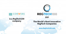 Cobwebs Selected for Regtech100 2021