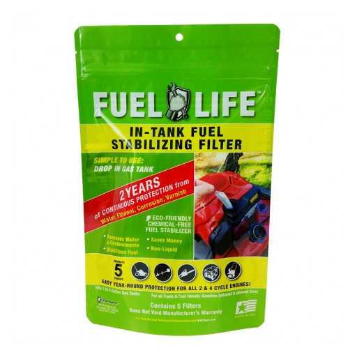 World's First Patented, Environmentally Friendly, Fuel Stabilizing Filter Now at the Home Depot, Walmart, Tractor Supply, Amazon; B3C Launches New Website