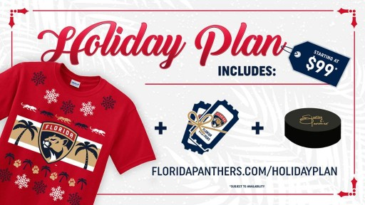 Florida Panthers Unveil 2017 Holiday Plan