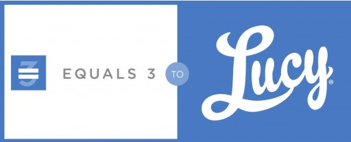 Equals 3 Announces Company Name Change to Lucy Along With Redesigned Website