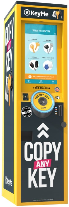 KeyMe Fourth-Generation Kiosk