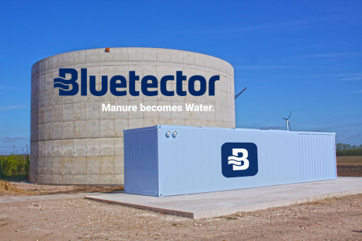 First Commercial Bluetector Manure Treatment System in Operation