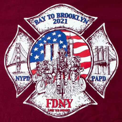 BAY2BROOKLYN2021: Veterans and Firefighters Cycle Cross-Country in Honor of the Lives Lost on Sept. 11, 2001