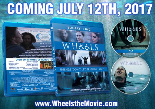 New Cult Classic Movie 'WHEELS' to Be Released as Blu-Ray + DVD Combo Pack on July 12, 2017