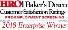 HRO Today Baker's Dozen 2018 Logo