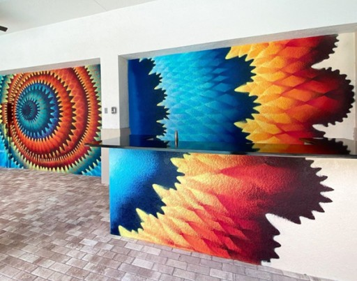 Lloyd Jones Apartment Community Commissions Miami Street Artist Hoxxoh for Custom Mural