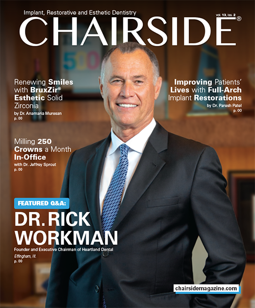Glidewell Dental Features Exclusive Interview With Dr  Rick
