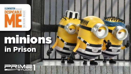 Cute Minions Figures/Statues Presented by Prime 1 Studio