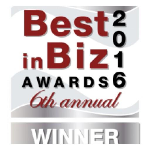 Mono Wins Best in Biz Award for Best SMB Service 2016