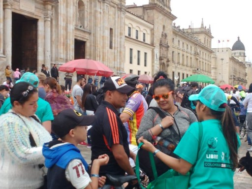 A Simple but Powerful Message: A Drug-Free Day in Bogotá