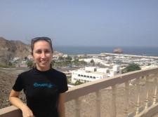 Ms. Charnitski in Oman