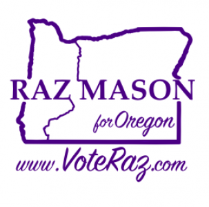 Raz Mason for Oregon