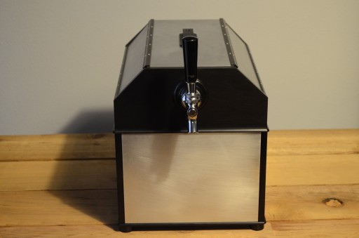 Turbine Cooled Kegerator Turns Bottled Beer Into Draft!