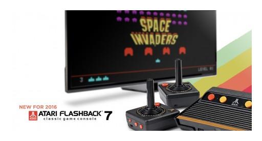 AtGames® Announces Return of Favorite Atari and Sega Games on New Atari Flashback 7 and Genesis Classic Game Consoles