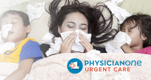 CDC: Get a Flu Shot in October. PhysicianOne Urgent Care: Get a No-Cost Flu Shot in October.