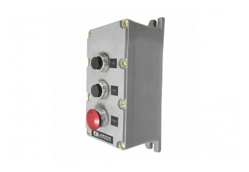 Larson Electronics Releases Explosion Proof Control Station, Mushroom Emergency Stop, NEMA 7/9