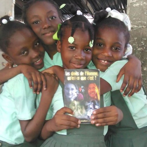 Human Rights Education Brings Hope to Haiti Children