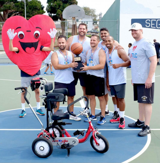 Which Los Angeles Law Firm Won the Basketball Battle for Charity?