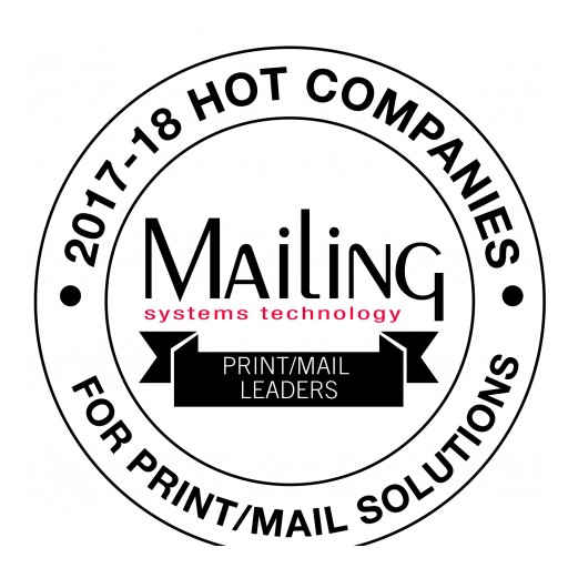 AccuZIP, Inc. Featured as a 2017-18 HOT PRINT/ MAIL SOLUTIONS COMPANY in August Issue of MAILING Systems Technology Magazine