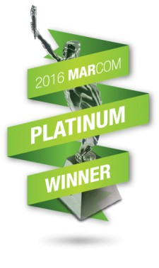 2016 Platinum MarCom Award Winner