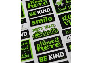 NedSayz Sticker Campaign