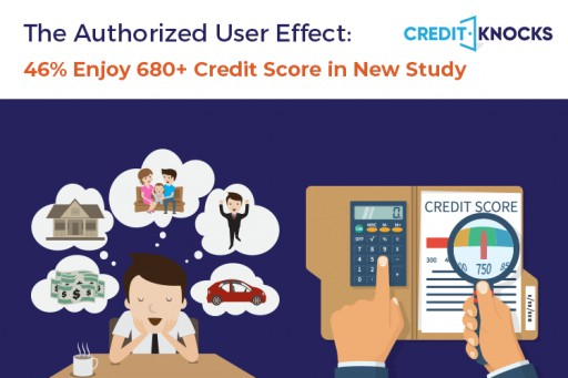 Credit Card Authorized Users Enjoy Higher Credit Scores, New Study by Credit Knocks Finds