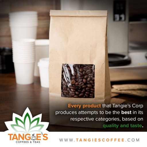 Tangie's Corp Officially Launches Website and Reveals a Variety of International Coffees and Teas