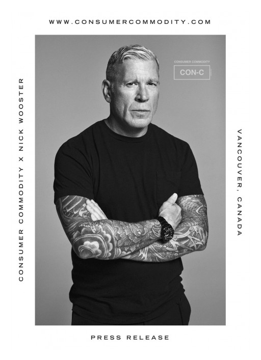 Canadian Apparel and Home Goods Brand, Consumer Commodity, Launches NFT Product With Fashion Icon Nick Wooster