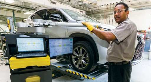 Lexus Franchise Offers Customers 'AmaZinn' Automotive Experiences With Spanesi Equipment