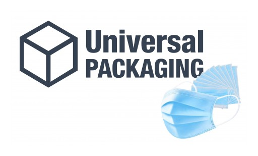 Universal Packaging Shifts Focus to COVID-19 Solutions by Providing FDA-Approved Face Masks