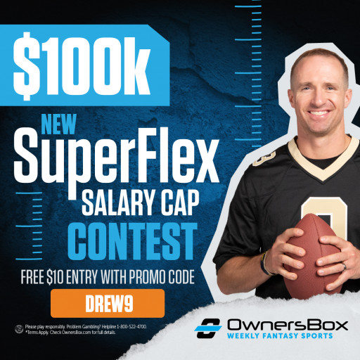 OwnersBox Launches the First SuperFlex Salary Cap Game - Now Available