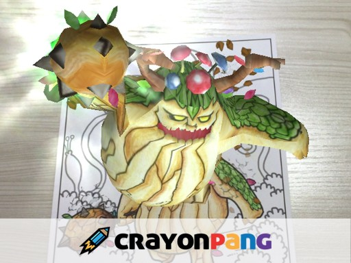 The Next Evolution in Children's Coloring, Crayonpang Brings Characters to Life With Augmented Reality Technology