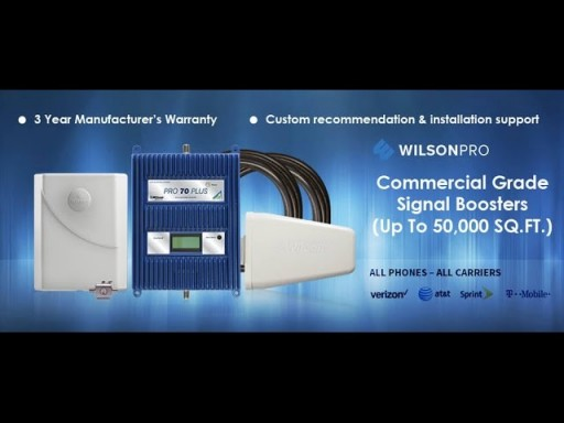 Wilson Pro 70 Commercial Cell Phone Signal Boosters