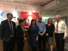 NYS Lt. Governor Kathy Hochul visits Brooklyn's BioBAT