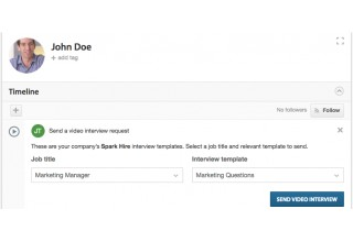 Send Spark Hire Video Interviews from Workable