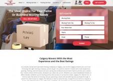 Calgary Pro Movers Website