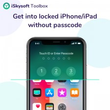 Remove iPhone lock screen with iSkysoft Toolbox